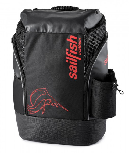 Sailfish - Cape Town Unisex Backpack 2021 - Black/Red
