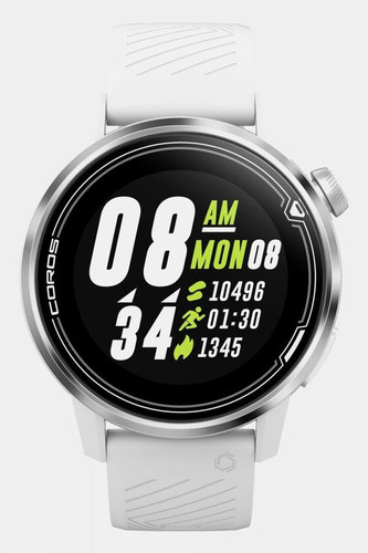 Coros - Apex Premium Multisport GPS Watch - 42mm Face - White/Silver