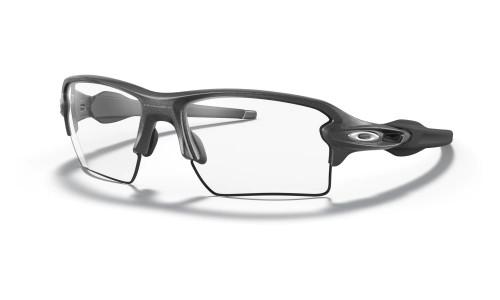 Oakley - Flak 2.0 Xl - Matte Black Steel Prizm Road Black Clear To Black Photochromic