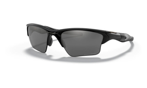 Oakley - Half Jacket 2.0 XL Sports Sunglasses - Polished Black Frame: Black Iridium Polarised Lenses