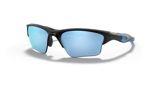 Oakley - Half Jacket 2.0 XL Sports Sunglasses: Matte Black/Matte Black Frames: Prizm Black/Polarized Prizm Deep H2O Polarised Lenses
