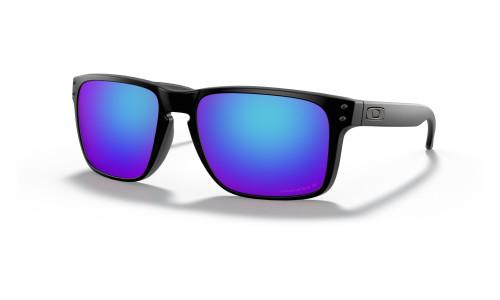 Oakley - Holbrook XL Sports Sunglasses: Matt Black Frames and Arms: Prizm Sapphire Polarising Lenses