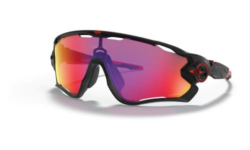 Oakley - Jawbreaker Sports Sunglasses - Matte Black  Frame, Prizm Sapphire Polarising Road Lenses