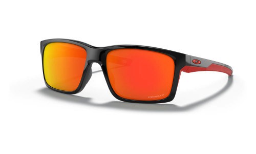 Oakley - Mainlink - Matte Black Polished Black Prizm Black Polarized Prizm Ruby Polarized
