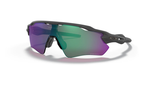Oakley - Radar Ev Path -  Matte Black  Steel Prizm Road Prizm Road Jade