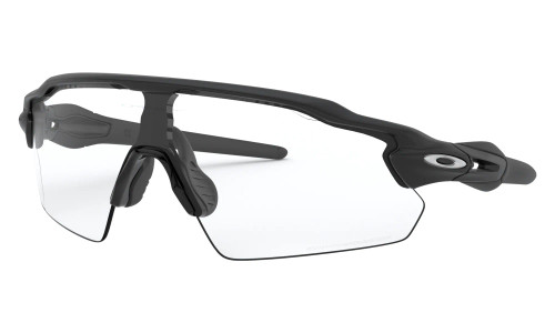 Oakley - Radar Ev Pitch - Steel Matte Black Clear To Black Photochromic Clear-Black Photochromic