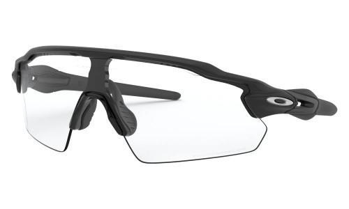 Oakley - Radar Ev Pitch - Steel Matte Black Clear To Black Photochromic Clear-Black Photochromic