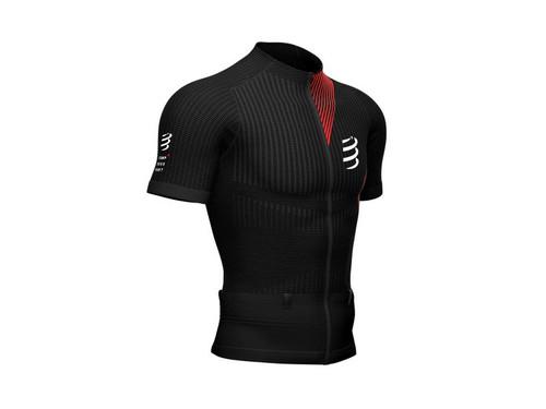 Compressport - Trail Postural Short Sleeve Top - Men's - Black - 2021