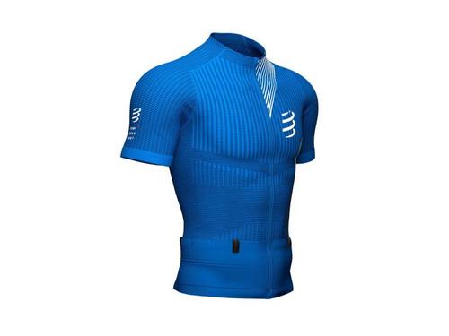Compressport - Trail Postural Men's Short-Sleeve Top 2021 - Blue Lolite