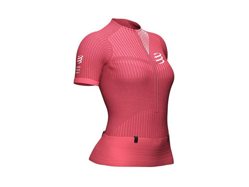 Compressport - Women's Trail Postural Short-Sleeved Top 2021 - Garnet Rose