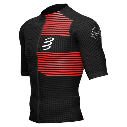 Compressport - Men's Tri Postural Short-Sleeve Top 2021 - Black