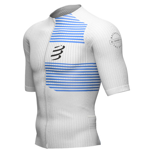 Compressport - Men's Tri Postural Short-Sleeve Top 2021 - White