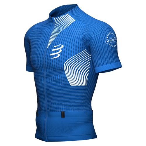 Compressport - Men's Performance Short Sleeve T-Shirt 2021 - Blue Lolite