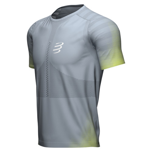 Compressport - Racing Short Sleeve Tshirt - Men's - Trade Wind - 2021