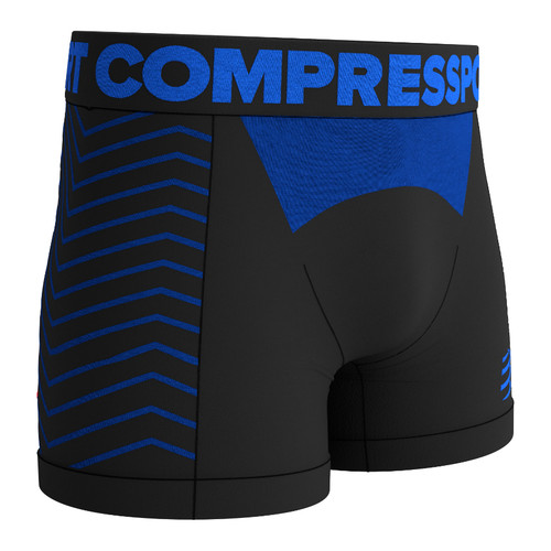 Compressport - Men's Seamless Boxer Shorts 2021  - Black