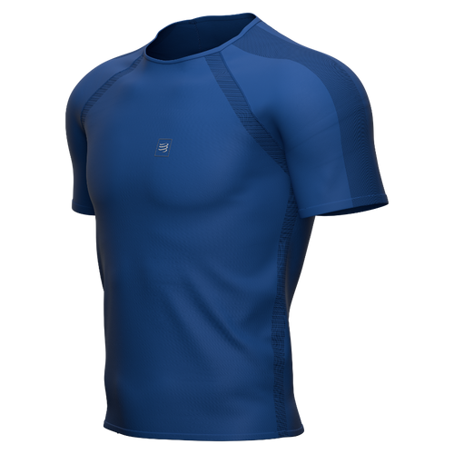 Compressport - Men's Training Short-Sleeve T-Shirt 2021 - Blue Lolite