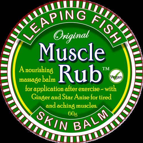 Leaping Fish  - Muscle Rub 60ml / 60g Tin