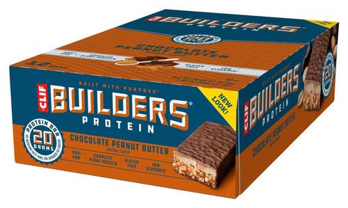Clif - Builders Bars - (12 x 60g Bar)