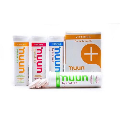nuun - Vitamin Tabs - (8 x 70g Tubes)