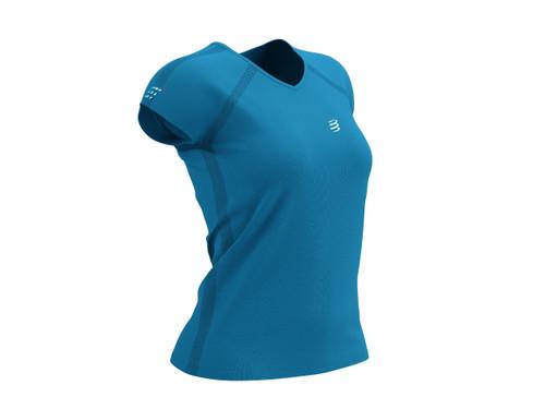 Compressport - Training Tshirt Short Sleeve - Born To SwimBikeRun 2021 - Women's