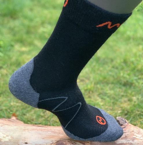 MOGGANS - Crew Socks - Black - Unisex