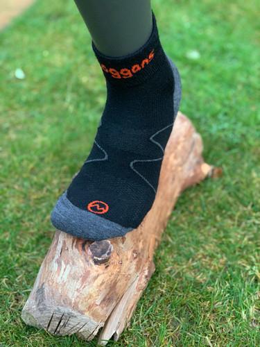MOGGANS - Ankle Socks - Black - Unisex