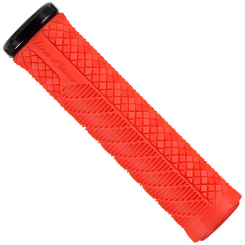 Lizard Skins - Single-Clamp Lock-On Charger Evo - Fire Red - Red