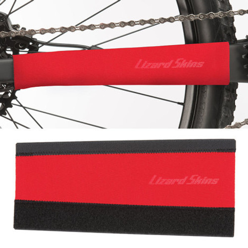 Lizard Skins - Large Neoprene Chainstay Protector - Red