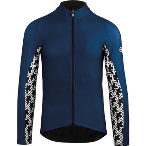 Assos - Mille GT Spring Fall Long Sleeve Jersey - Men's - Caleum Blue - 2021