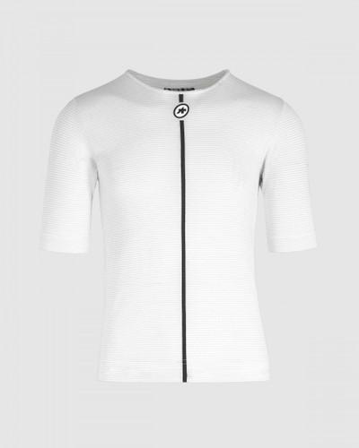 Assos - Assosoires Summer Short Sleeve Skin Layer - Men's - Holy White - 2021