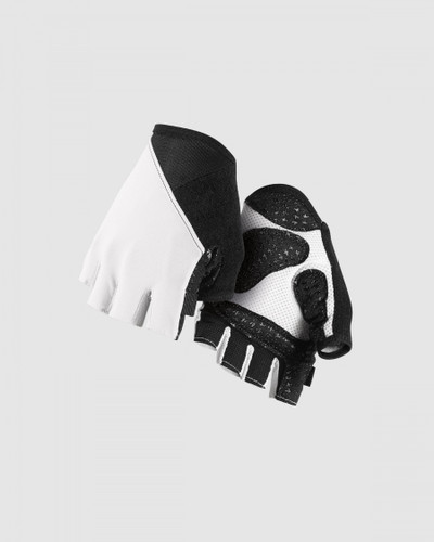 Assos - Summer Gloves S7 - Unisex - White Panther - 2021