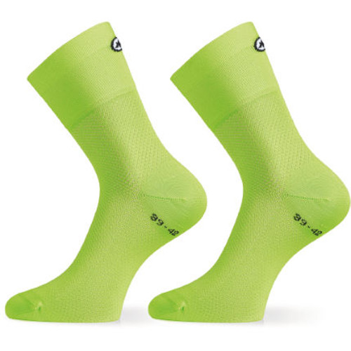Assos - Assosoires GT Socks - Unisex - Visibility Green - 2021