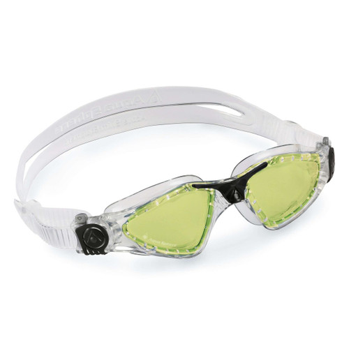 Aquasphere - Kayenne Transparent Black Lenses Polarized Green