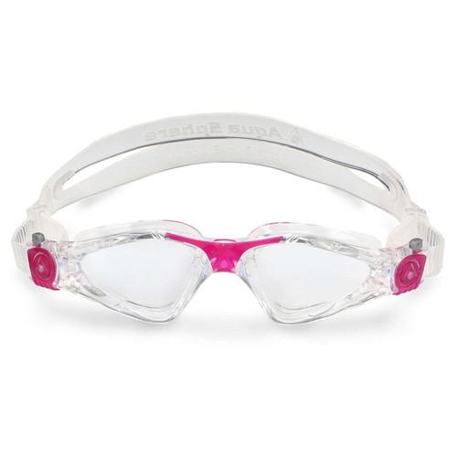 Aquasphere - Kayenne Small Transparent Dark Pink Lenses Clear