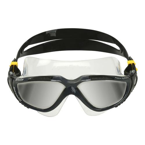 Aquasphere - Vista Dark Gray Black Lenses Mirror Silver