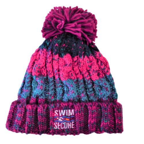 Swim Secure - Bobble Hat - Winter Berries