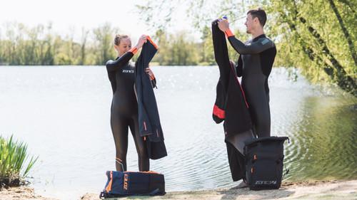Zone3 - Women's Aspect 'Breaststroke' Wetsuit - Ex-Rental CAT 1