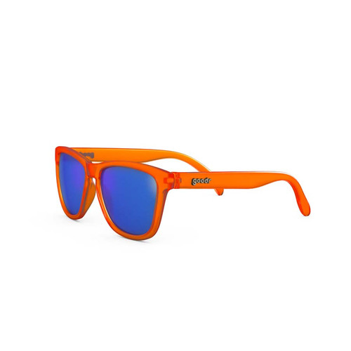 The Ogs - The Originals - Donkey Goggles - Orange with Blue Lens