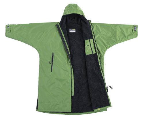 Dryrobe - Advance Long Sleeve - Dark Green Black