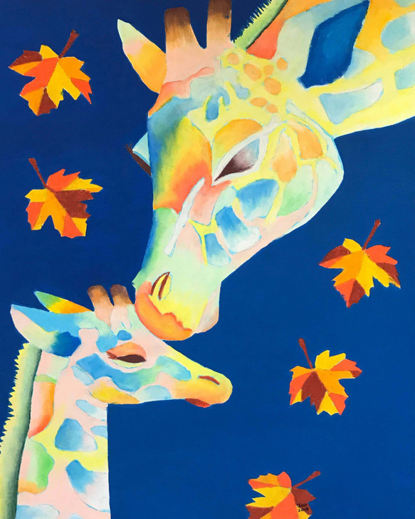Limited Edition Giclée Print - Autumn Leaves by Joss Rossiter