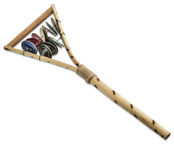 African Instrument - Y Shape Rattle