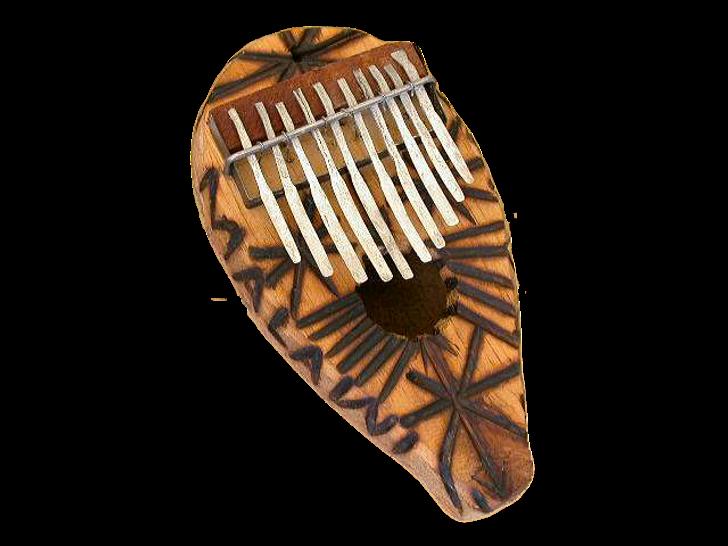 African Thumb Piano - 10 Key