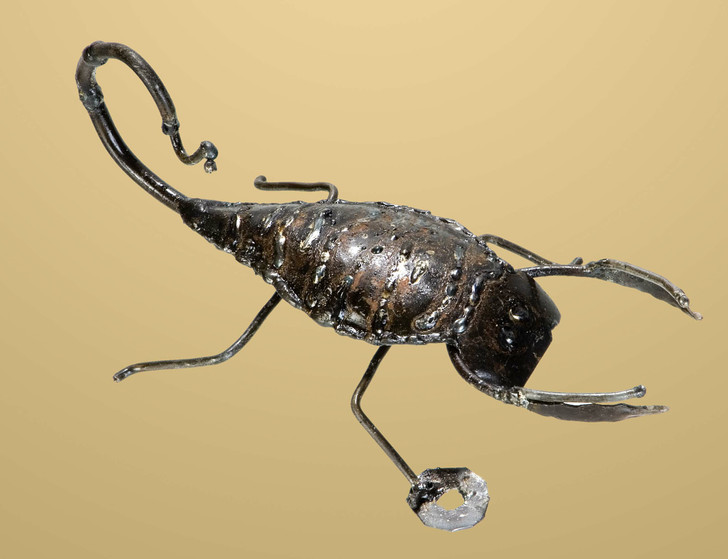 Recycled Metal Scorpion