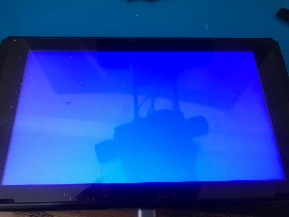 Nintendo Switch CPU Reballing service, Blue screen of death repair