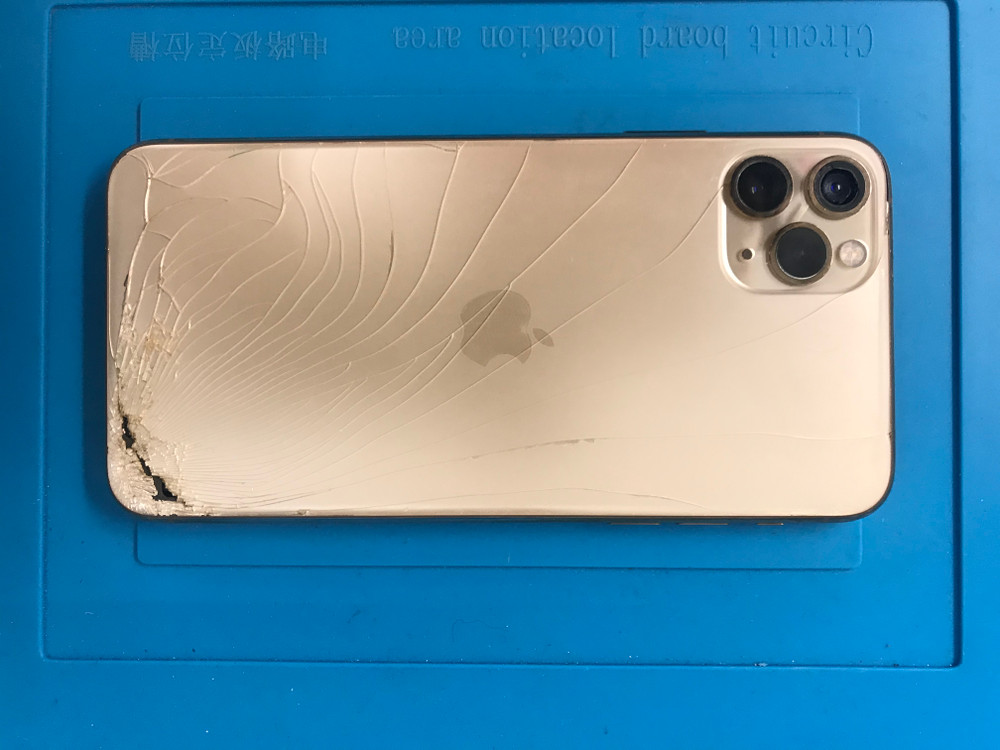 iPhone broken back battery cover replacement  service
