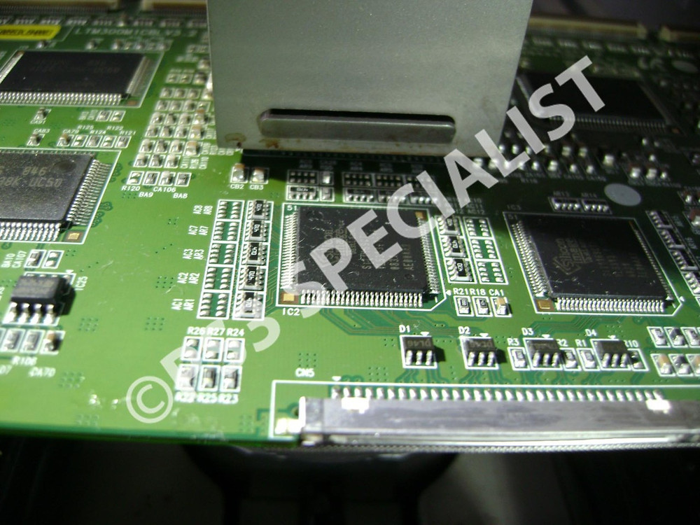 Samsung Monitor 305T/Gateway XHD3000 Monitor Reballing Repair
