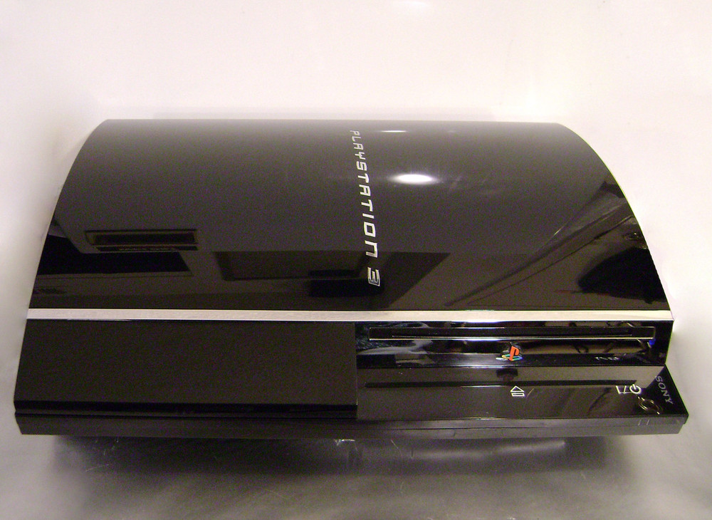 Backward Compatible PlayStation 3 Console Model CECHE01