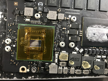 MacBook Pro Graphics Chip Reballing service year 2013, 2014, 2015 and 2016 models