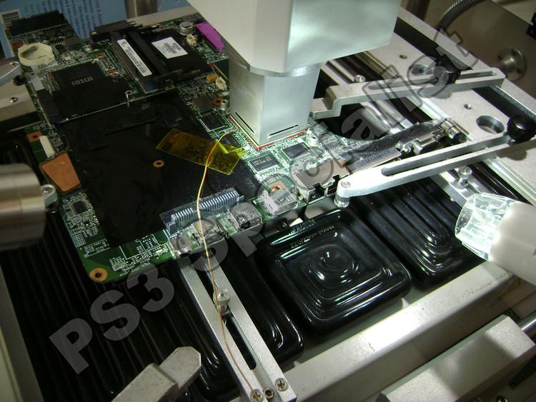 HP laptop Graphics chip Reballing repair service