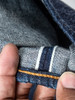 We hem jeans with a heavy duty Union Special, allowing us to easily sew through the heaviest fabrics.